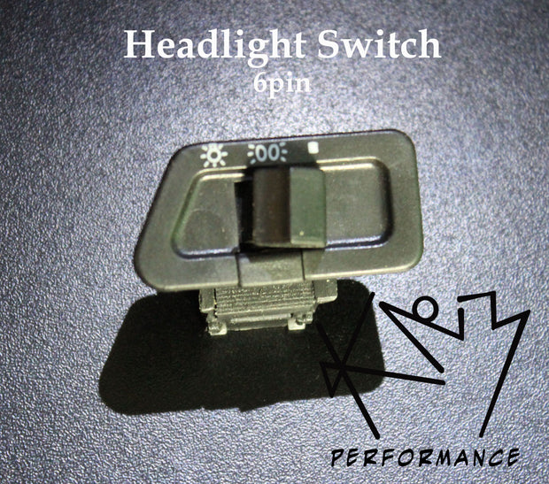 Switch Headlights 6 pin Toggle Style