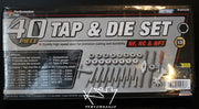 Tap & Die Set Metric