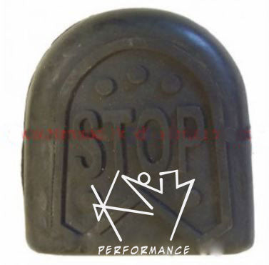 Rubber Gokart Peddle covers - STOP or GO