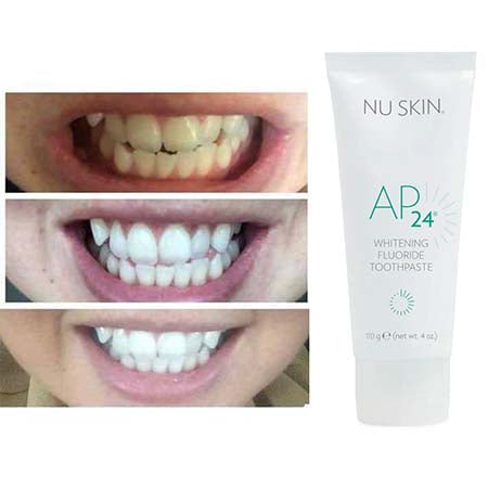 dentrifrice blanchissant AP24 Withening Nuskin