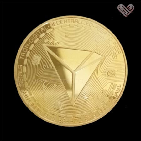 Médaille collection Ethereum gold or
