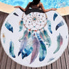 Drap de plage rond dream catcher pas cher