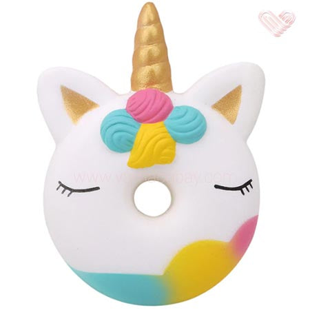Squishy smooshy mushy antistress mochi donut licorne pas cher