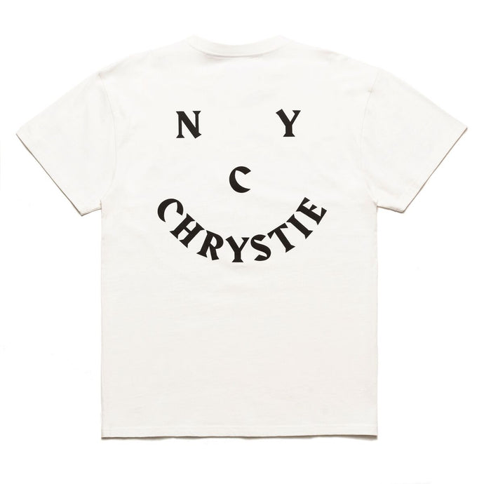 Chrystie | Smile Logo Tee - White