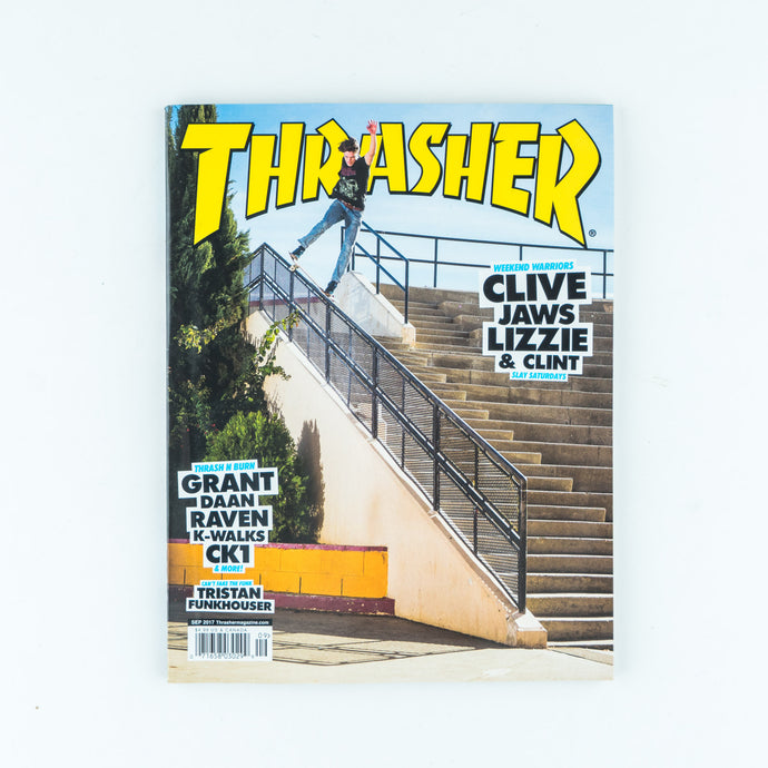 Thrasher Magazine - September 2017 issue