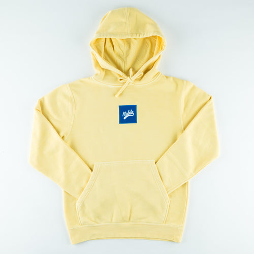 Skateboard Hoodie | Dyed Yellow