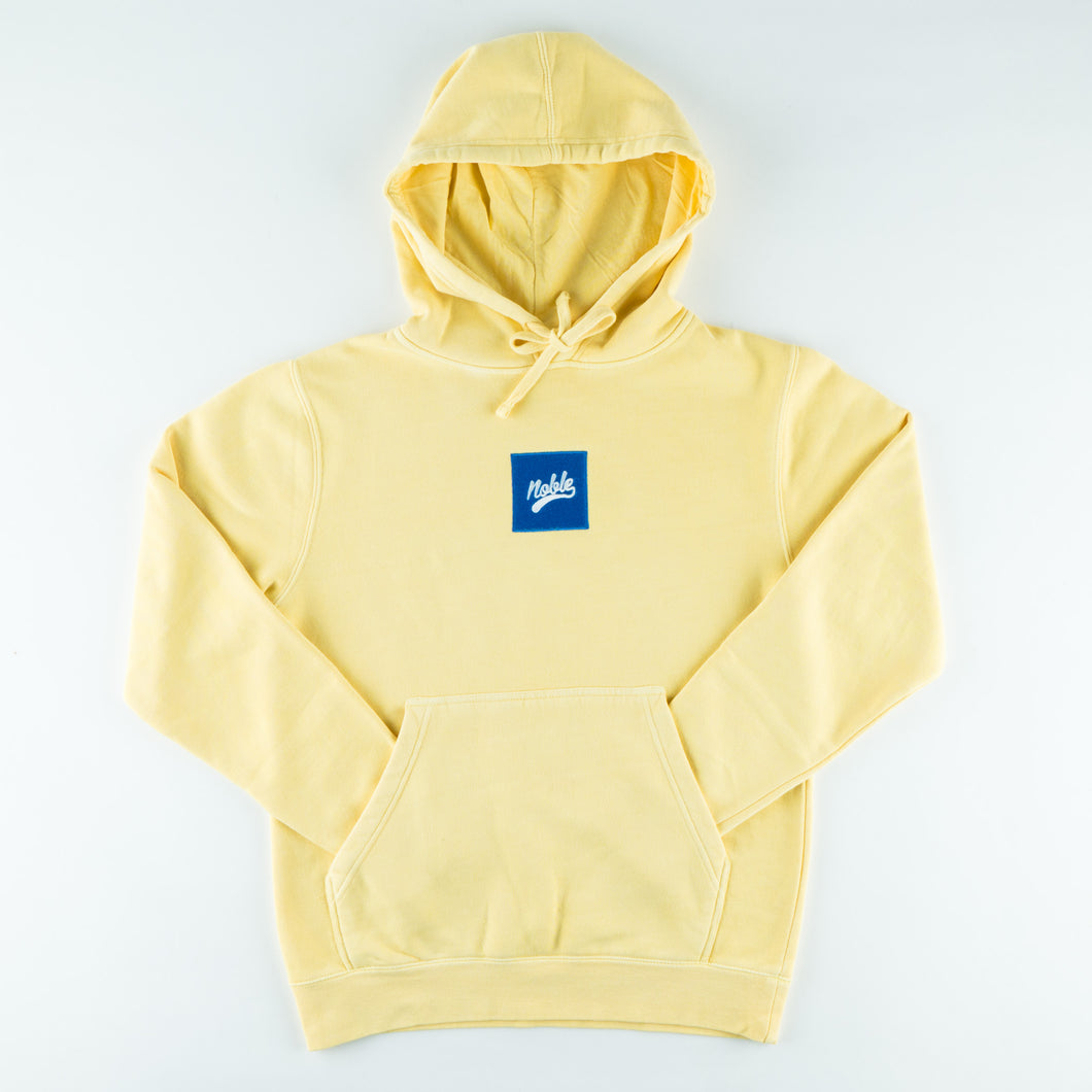 Skateboard Hoodie - Dyed Yellow