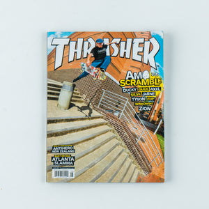 Thrasher Magazine - August 2017 issue