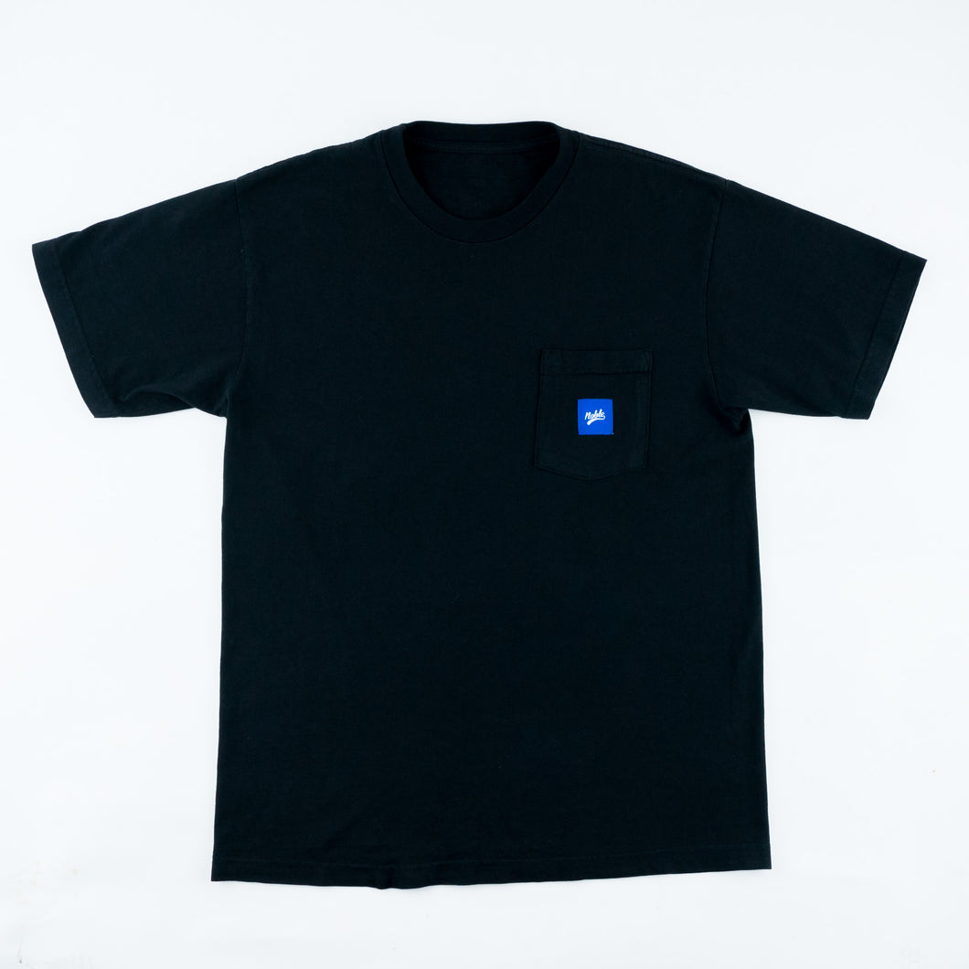 Skateboard Pocket Tee - Black