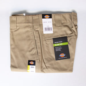 872 Slim Fit Work Pant - Khaki