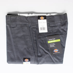 Dickies | 872 Slim Fit Work Pant - Charcoal Grey