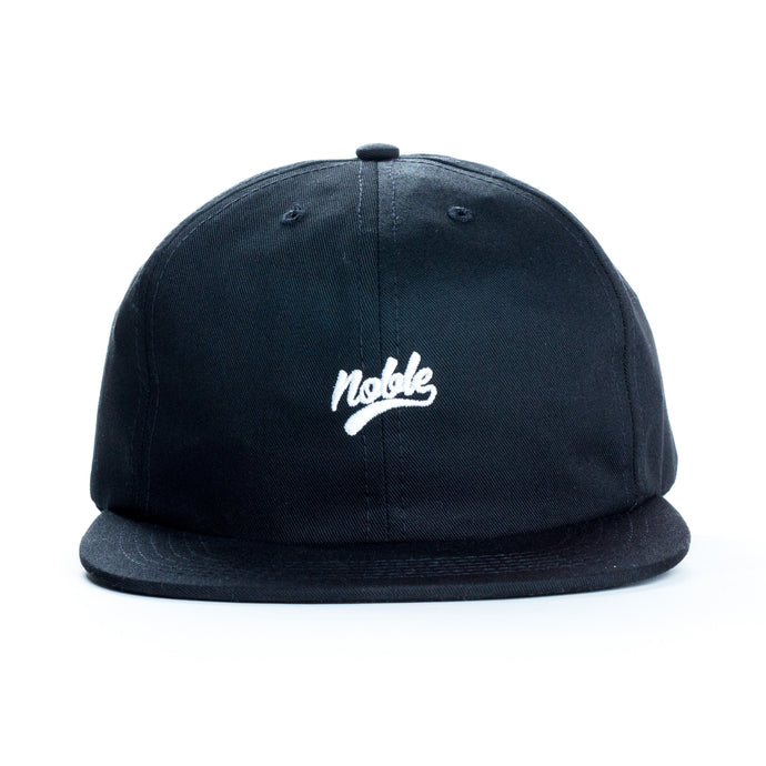 Noble | Skateboard Cap - Black