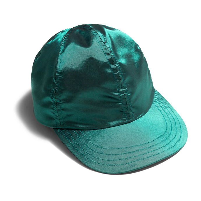 Falcon Bowse x Chrystie Hat Satin - Green