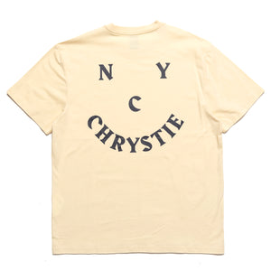 Chrystie NYC smile logo T-shirt