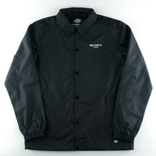 Load image into Gallery viewer, Skateboard Coach Jacket Dickies - Black