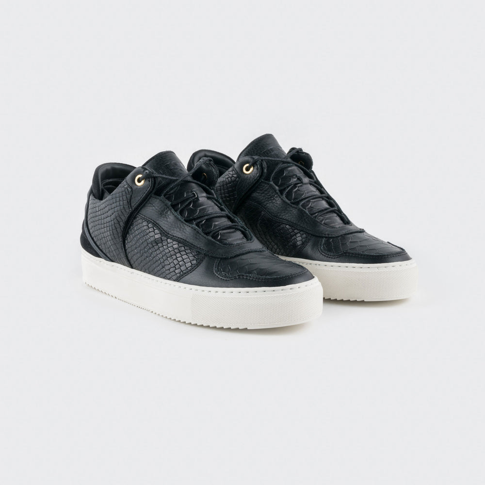 OFFSET Brand Mika 1 Black Leather Best New Sneaker for Men and Women in 2018 Fashion Shoes online