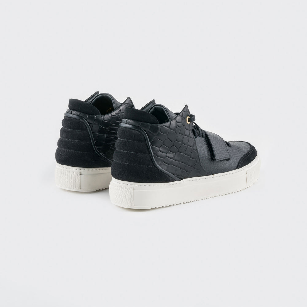 OFFSET Brand Kaneda 1 Black Leather Best New Sneaker for Men and Women in 2018 Shoes online