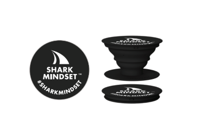 """Shark Mindset"" Pop Socket"