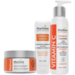 Bundle #2 – Retinol Moisturizer, Vitamin C Cleanser, Scrub Cream