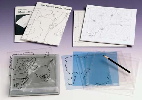 Map Reading Model Student Refill Maps | Set of 50