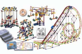 K'Nex Amusement Park Experience Kit | Teacher's Guide Included