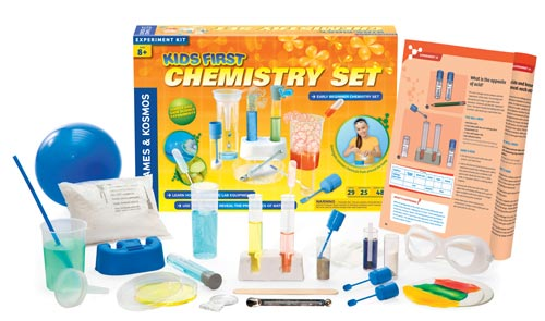 Kids First Chemistry Set | 25 Experiment Ideas | Manual Included