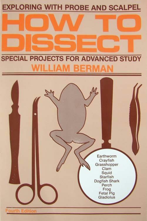 How to Dissect Book | Introduction to Dissection of Various Species