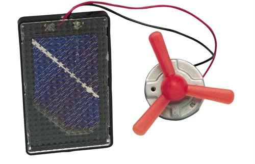 Solar Energy Kit | Includes Solar Cell & 1.5 Volt DC Motor