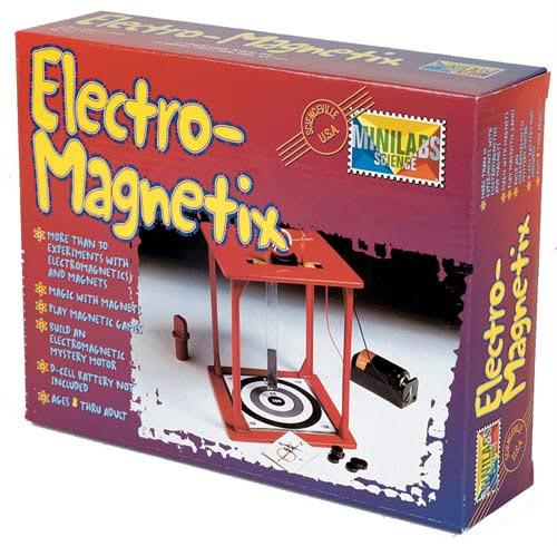 Electro-Magnetix Kit | Includes 30 Experiments & Activities