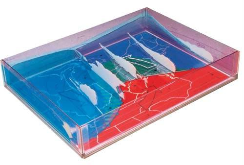 "Weather Model | 16"" x 12"" x 3"" 