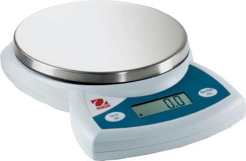 CS5000 Ohaus Compact Balance  | 5000 Gram Capacity | Battery or AC Power