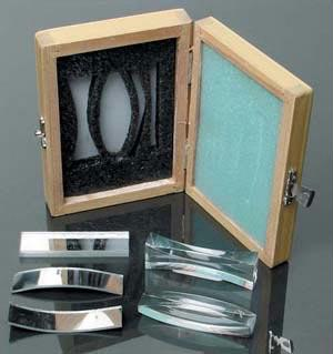 Optics Set | Two Acrylic Lenses | Packed in Storage Box