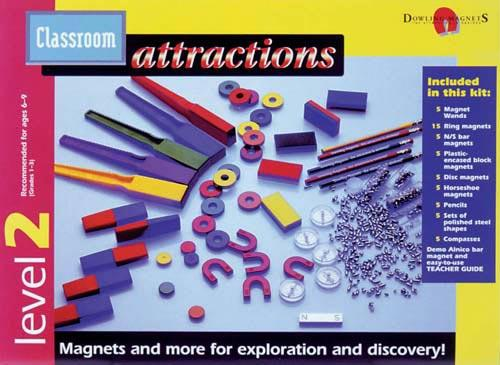 Classroom Attractions Magnet Kit | Level 2 | Teacher's Guide Included