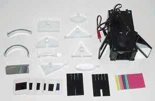 Light Box Kit | Includes Storage Box | Reflection, Refraction, Color Mixing Labs