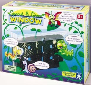 Sprout & Grow Window | Bean & Pea Seeds Included | Grades K+