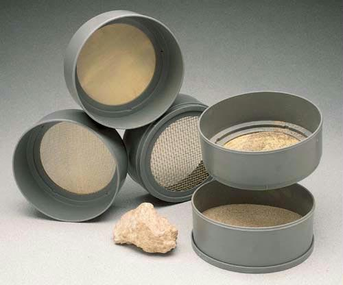 Screen Sieves | Includes 4 Plastic Sieves Nos. 6, 20, 40, & 100
