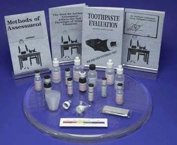 Toothpaste Evaluation Kit | Materials For 12 Pairs of Students | Grades 7-12