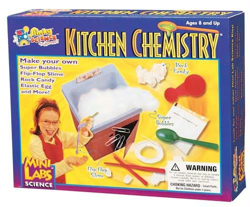 Kitchen Chemistry Kit | Common Household Substances | Ages 8+