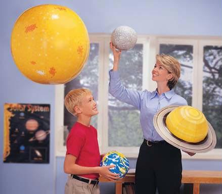 Inflatable Solar System Kit | Activity Guide Included