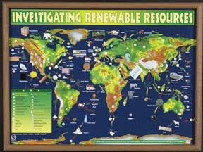 "Investigating Renewable Resources | 18"" x 24"" 