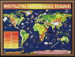 "Investigating Non-Renewable Resources | 18"" x 24"" 