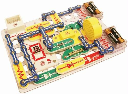 Snap Circuits Pro Kit | Over 500 Experiments | 75 Parts Included