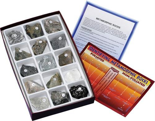 Metamorphic Rock Collection | 15 Specimens | Grades 5-12