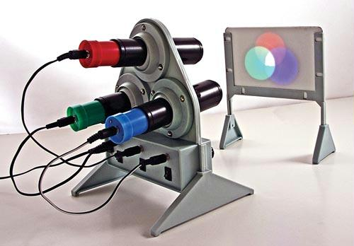 Color Mixing Apparatus | Adjustable LED Intensity | Wall Mount Included