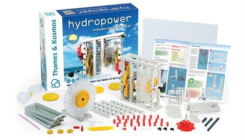 Hydropower Kit | Includes 32 Page Experiment Manual | Ages 8+
