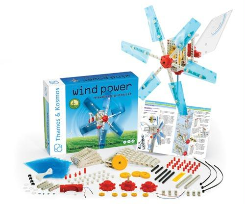 Wind Power Kit | Full Color Manual Included | Ages 8+