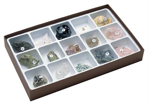 Gem Minerals Collection | 15 Specimens Included | Ages 11-18