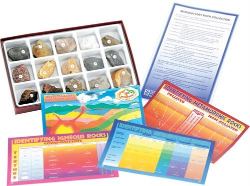 Introductory Rock Collection | 15 Specimens Includes | Grades 6-12