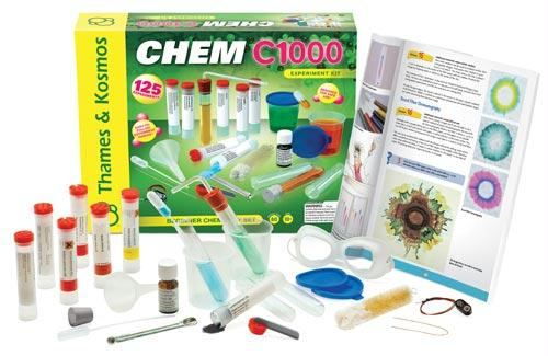 Chem C1000 Chemistry Kit | 80 Page Manual Included | Ages 8+