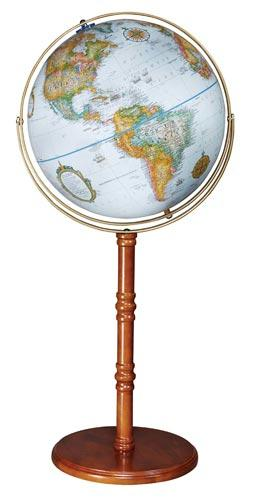"Political Floor Model Globe | 16"" Globe 